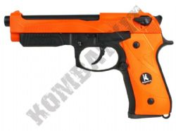 HG192 BB Gun M9 Replica CO2 Blowback Airsoft Pistol 2 Tone Orange Black